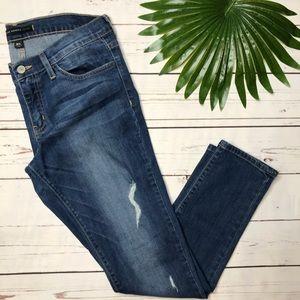 {Flying Monkey} sz 25 platinum skinny jeans